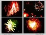 fireworks fireballs - panel