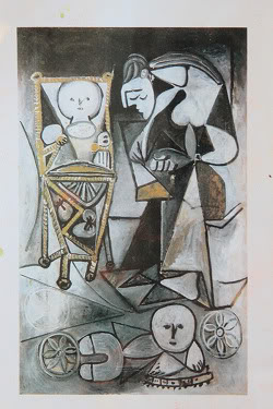 Picasso Painting. Title Unknown.